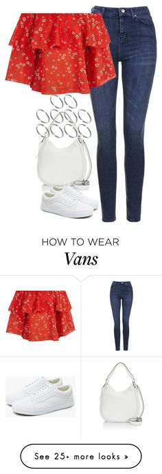 """Untitled #4516"" by keliseblog on Polyvore featuring Topshop, Alice + Olivia, Rebecca Minkoff, Vans and ASOS"