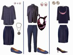 The Vivienne Files: Denim Blue Outfits with Floral, Bright and Silver/White Accessories