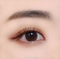 korean makeup looks Korean Makeup Look, Korean Makeup Tips, Asian Eye Makeup, Korean Makeup Tutorials, Korean Beauty Tips, Asian Beauty, Korean Make Up, Asian Eyes, Braut Make-up