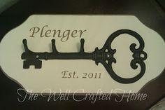 Personalized Key Hook