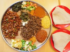 traditional dish  Ethiopian.