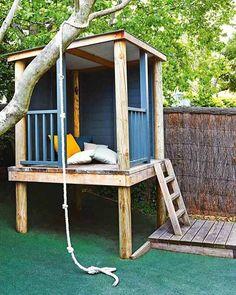 Bom dia com várias ideias #inspiração para a casinha de quintal dos pequenos! ☀️ Quem fica louco ai? ♂️ #queria #ideiasdiferentes
