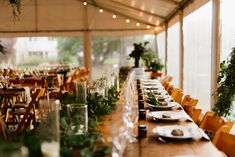 White Roof Marquee | Festoon Lights | Stripped Napkins | White Coupe Plates, Premium Glassware | Bogart Cutlery | Wedding Reception | Vintage Timber Tables | Wooden Folding Chairs | Laggan Pub | Photography by Renata | South Coast Party Hire