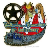 disney bedknobs and broomsticks collector's pin