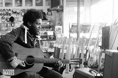 Michael Kiwanuka Music Instruments, Guitar, Portraits, Musical Instruments, Head Shots, Portrait Photography, Guitars, Portrait Paintings, Headshot Photography