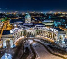 Казанский кафедральный собор.  Автор: Александр Лихачев (Megapixeli. pro).