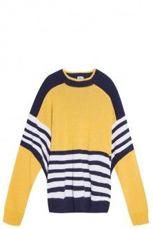 striped sweater by PREEN BY THORNTON BREGAZZI. Available in-store and on Boutique1.com