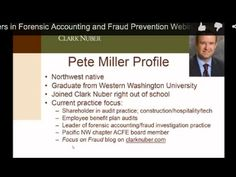 career paths in forensic accounting fraud examination