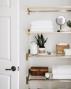 this is adorable | bathroom goals, bathroom shelving, open shelving, shelf decor, home inspiration, house, living space, room, scandinavian, nordic, inviting, style, comfy, minimalist, minimalism, minimal, simplistic, simple, modern, contemporary, classic, classy, chic, girly, fun, clean aesthetic, bright, white, pursue pretty, style, neutral color palette, inspiration, inspirational, diy ideas, fresh, stylish, 2017, sophisticated