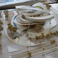 Bamboo Architecture, Concept Architecture, Amazing Architecture, Architecture Design, Commercial Complex, Arch Model, Autocad, House Design, Concept Art