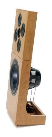 DNA Sequence Speakers dipole open baffle woofer high efficiency point source array midrange tweeter treble loudspeaker