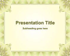 Plantilla de Microsoft PowerPoint Formal