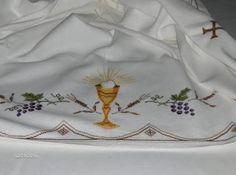 Resultado de imagen para riscos para pintura em toalhas de altar