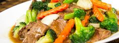 Súp lơ xào thịt bò Asian Recipes, Ethnic Recipes, Buffet, Broccoli, Pork, Beef, Stir Fry, Soups, Juices