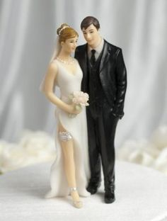 Butt Pinch Wedding Cake Topper