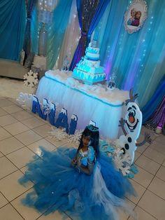 Frozen 3rd Birthday, Elsa Birthday, 4th Birthday Parties, Princess Birthday, Princess Party Decorations, Birthday Party Decorations, Frozen Theme Party, Frozen Toys, Olaf