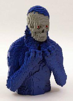 Incredible LEGO Artwork by Nathan Sawaya - Underneath