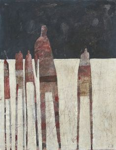 Scott Bergey's Paintings Are Textured, Raw And Highly Stylised
