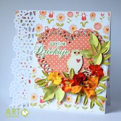 Thank you card for a teacher - Scrapbook.com - Use a combination of Spellbinders dies, Martha Stewart punches, inks and more to create a beautiful thank you card.