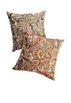Josette Paisley Decorative Pillow New Apartment Pinterest