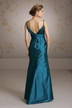 Lazaro style LZ3081 bridesmaids dress in Jade