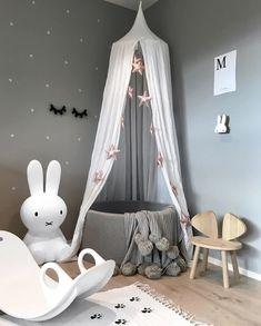 A cute kid's room - Is To Me Baby Bedroom, Nursery Room, Girls Bedroom, Nursery Decor, Bedroom Ideas, Playroom Decor, Baby Room Decor, Kids Decor, Baby Playroom