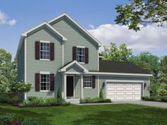 The Fordham | River Highlands | William Ryan Homes