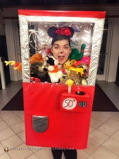 Claw Machine Costume - Clawing my Way to the Top