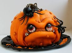 Halloween Cake! Coolest cake ever!!