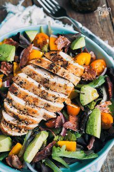 Balsamic Chicken Salad #paleo