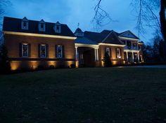 classic facade lighting Facade lightning