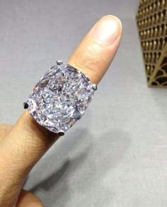 I'm not fond of solitaires but for this one I might make an exception....Graff diamond ring