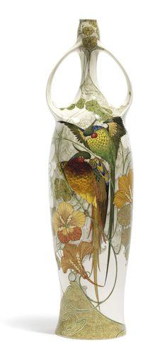 Rozenburg two-handled vase ~ circa 1909-10
