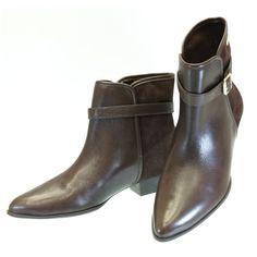 Bota Cano Curto Café 3368 Dumond by Moselle | Moselle sapatos finos femininos! Moselle sua boutique online.