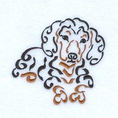 Swirly Dachshund - 4x4 | What's New | Machine Embroidery Designs | SWAKembroidery.com Starbird Stock Designs
