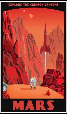 SciFi Travel Posters