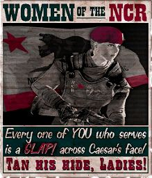 NCR poster #newvegas