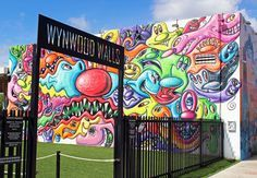 Wynwood Walls Miami is an incredible collection of murals, public art, and street art. It's free to visit and you'll want to explore the neighborhood, too. Miami Pictures, Beach Pictures, Wynwood Walls Miami, Street Art, Miami City, South Beach Miami, South Florida, Mural Art, Murals