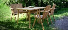 Nikari Finland – Scandinavian designer furniture Source by Helsinki Design, Dish Sets, Outdoor Furniture Sets, Outdoor Decor, Scandinavian Design, Designer, Furniture Design, Gallery, Table