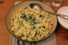 Pasta, peas and parmesan : Nigel Slater recipe : Ruby Rhino