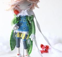 Little Treasures: Crochet Dream Dolls - kukukolki