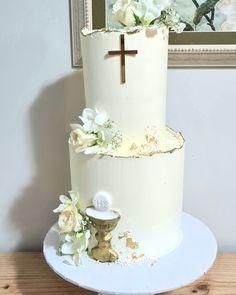 Boys First Communion Cakes, Boy Communion Cake, First Communion Decorations, First Communion Party, 25th Birthday Cakes, Religious Cakes, Confirmation Cakes, Girl Cakes, Cake Table