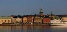 Panorama of Stockholm Harbour