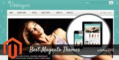 Best Magento Themes of October 2012