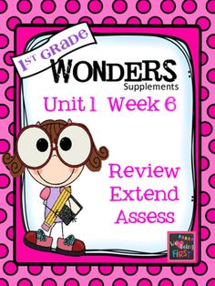 If you are already using, or you are new to the Wonders Reading Program, you will find that week six is a bit different in each unit compared to the previous weeks. During week six you are to review and assess what has been taught the 5 previous weeks, and celebrate with some cool projects that fit in with the theme of the unit.