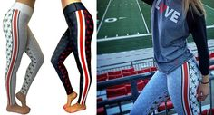 Here's the thing: You need a Valentine's Day gift for the special lady in your life. Bend's got you with their Ohio State-themed leggings and gear from the Shelley Meyer Collection.