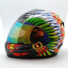 One of your most important riding gear investments is a Street Bike Motorcycle Helmet; Street Bike Helmets, Street Bikes, Motorcycle Helmets, Helmet Paint, Riding Gear, Pinstriping, Full Face, Indian, Airbrush