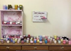 LOTS OF CANDLES IN STOCK