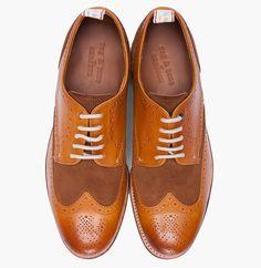Grenson for Rag & Bone – Wingtip Brogue Shoes