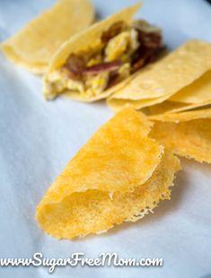 Low Carb Cheese Taco Shells (Keto)
